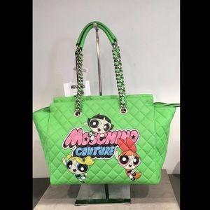 Moschino Couture X JEREMY SCOTT POWERPUFF Handbag